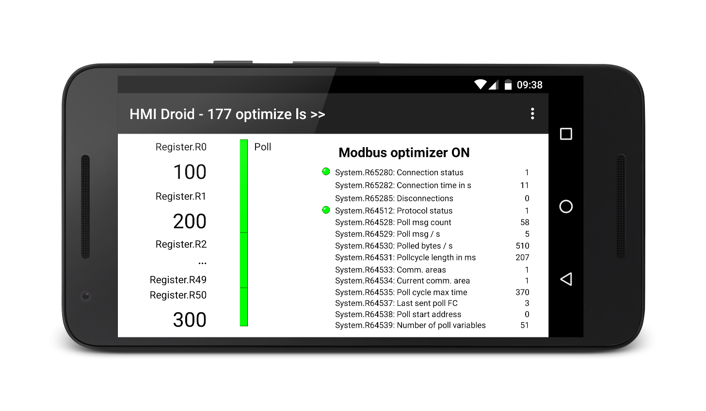 HMI Droid - Optimizer on