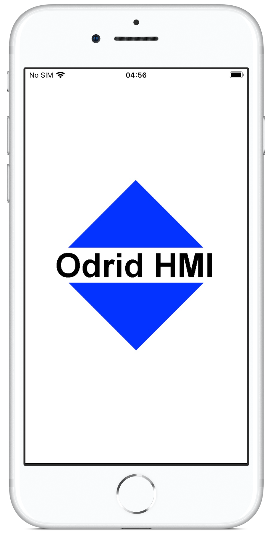 Odrid HMI - Launch screen