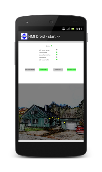 home automation Android